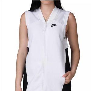 Nike Women Tech Knit Fleece Mesh Cocoon Vest